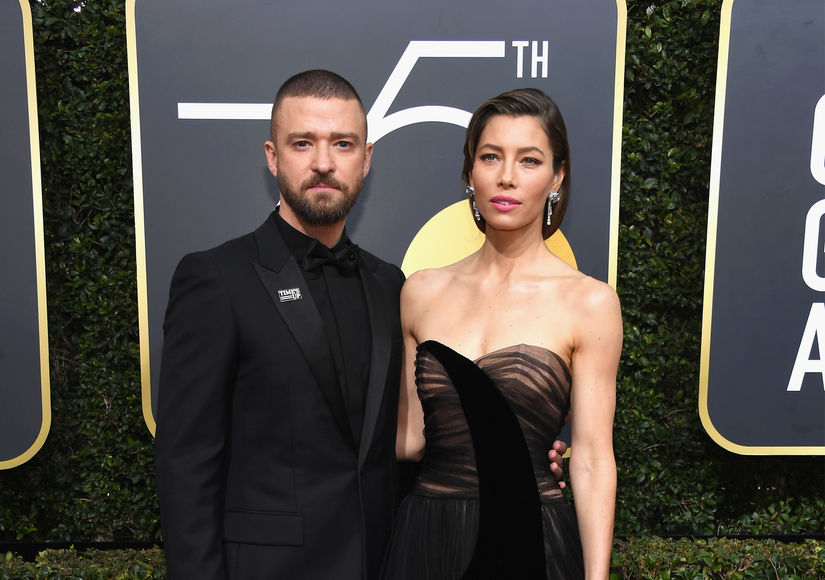 Justin Timberlake Flirts with Jessica Biel After His Headline-Making Pic with Co-Star