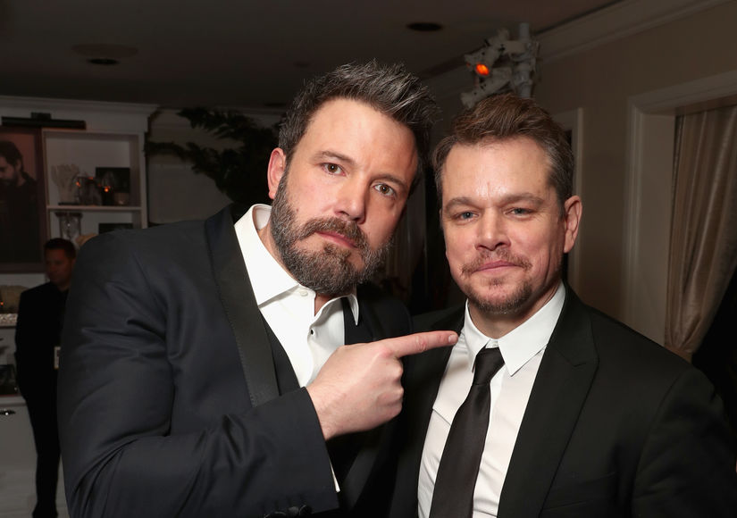 Wow! Ben Affleck Debuts New Look in Charity Video with Matt Damon