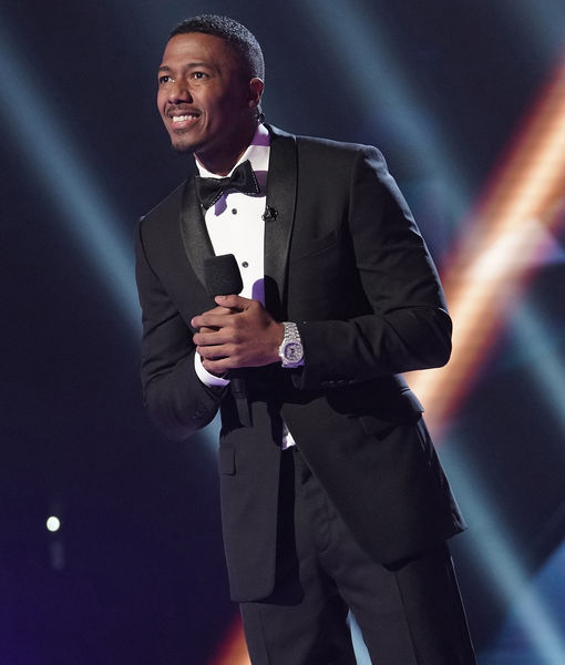 Nick Cannon Stops by 'Extra' to Talk Smash Hit 'The Masked Singer'