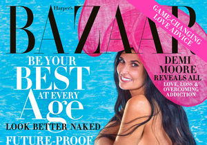 Demi Moore, 56, Stuns in Naked Cover Shoot for Harper's Bazaar