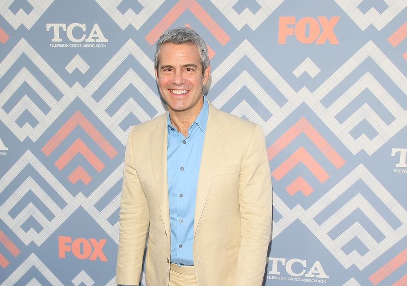 Andy Cohen on Pride, His Post-COVID-19 Chest X-Ray, and the Moment Ben Met Anderson Cooper's Son