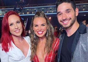 We sent #SharnaBurgess in as our special #DWTS correspondent!