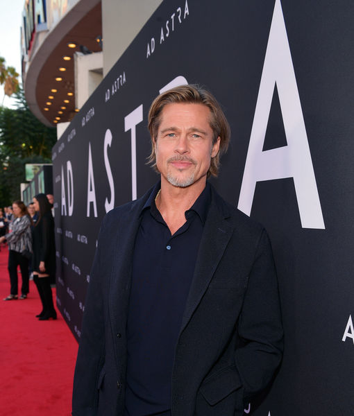 Brad Pitt Takes on Dating Rumors, Plus: His Days Smoking Pot