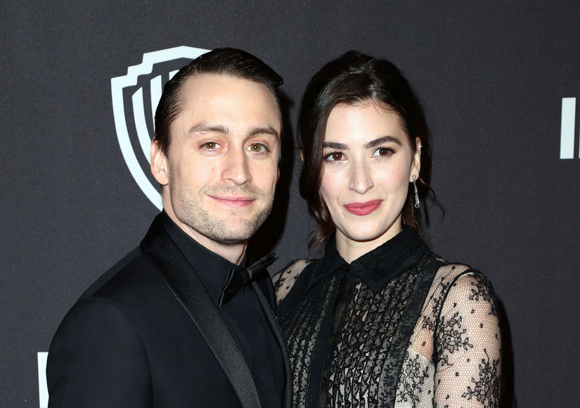First Pic! Kieran Culkin & Wife Jazz Charton Welcome Baby Girl