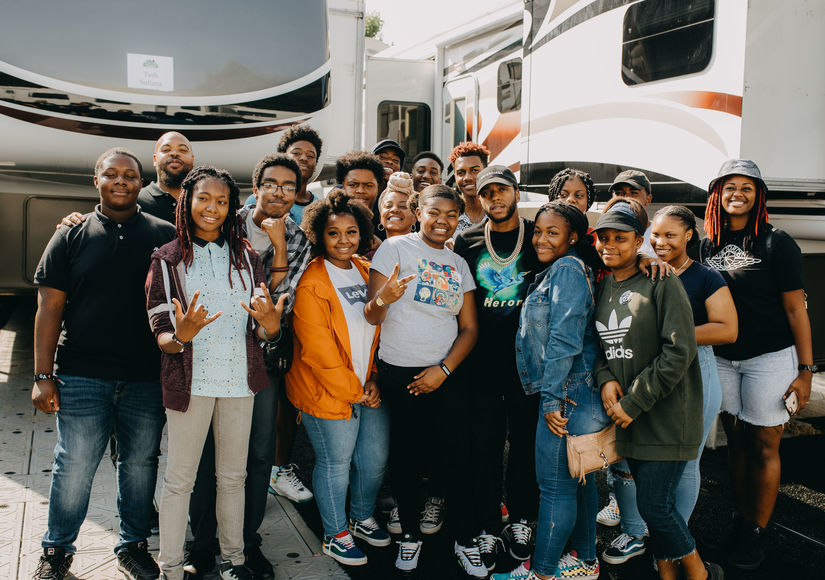 Music Mentor! 6lack's Words of Wisdom for Students in Atlanta