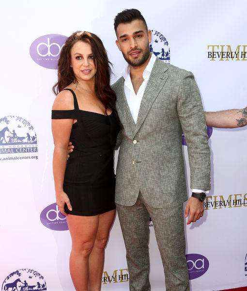 Sam Asghari Gushes Over Britney Spears' Support