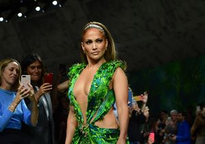 Wow! J.Lo Stuns at 50 in Even Sexier Version of Iconic Plunging Grammys Dress