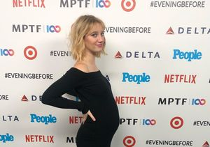 Yael Grobglas Announces She's Pregnant at Pre-Emmy Party
