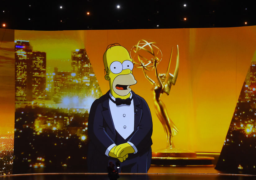 homer-simpson-speaking-is-projected-on-a-video-screen-during-the-71st-emmy-awards-gettyimages-1176442415