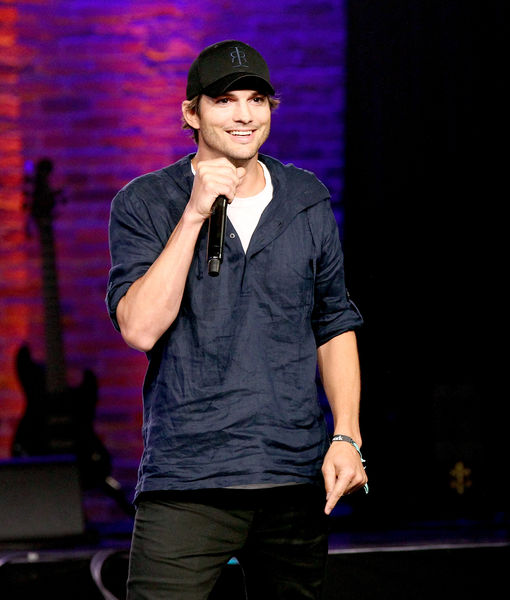 Ashton Kutcher Seemingly Reacts to Demi Moore's Cheating Allegations