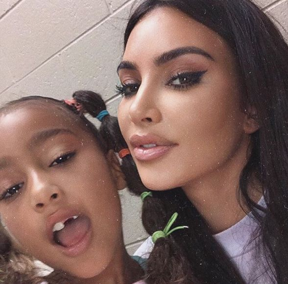 Kim Kardashian Shows Off New North Pics