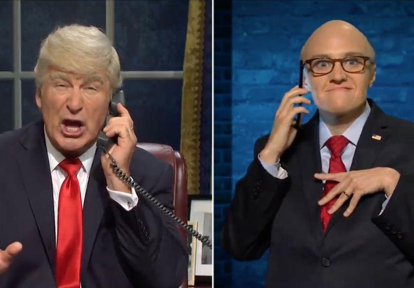 'SNL' Takes on Impeachment in Season Opener