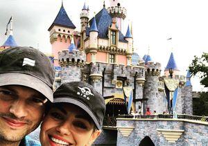Ashton Kutcher & Mila Kunis Escape to Disneyland, Plus: How They Are…