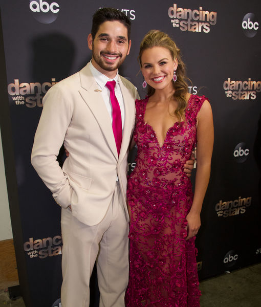 Hannah Brown & 'Dancing with the Stars' Partner Alan Bersten Take On Romance Rumors