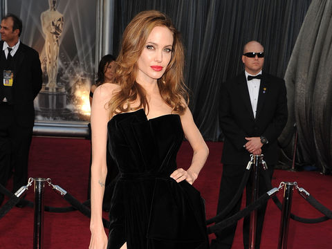 Angelina Jolie Reveals the Secret Behind THAT Oscar Dress