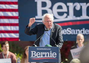 Bernie Sanders Hospitalized