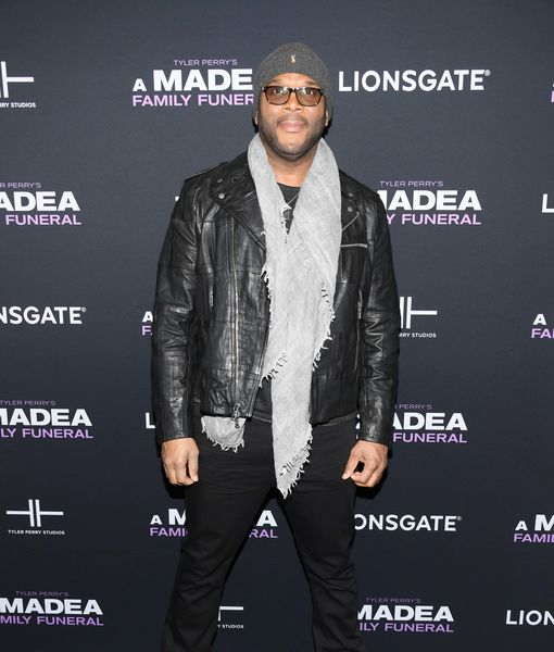 Giving Back! Tyler Perry Buys Groceries for Thousands of Seniors
