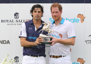Nacho Figueras on 'Amazing Father' Prince Harry