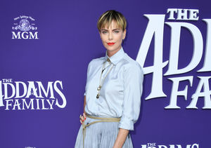 Charlize Theron Talks Hand Injury, Plus: Her Kids' Halloween Costumes