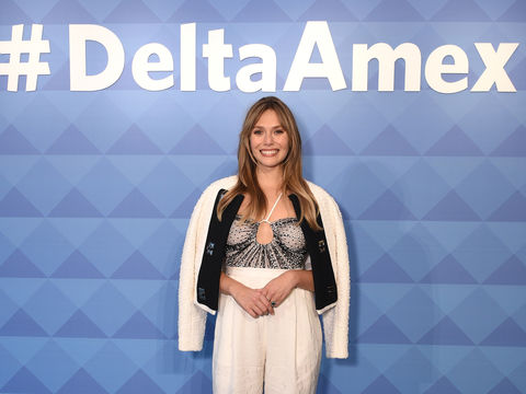 Elizabeth Olsen Talks Marvel Spin-Off 'WandaVision,' Plus: She Shares Her Love of Travel