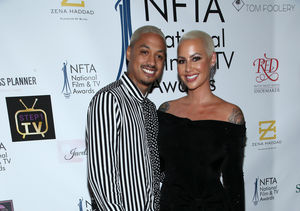 First Pic! Amber Rose Welcomes Baby #2