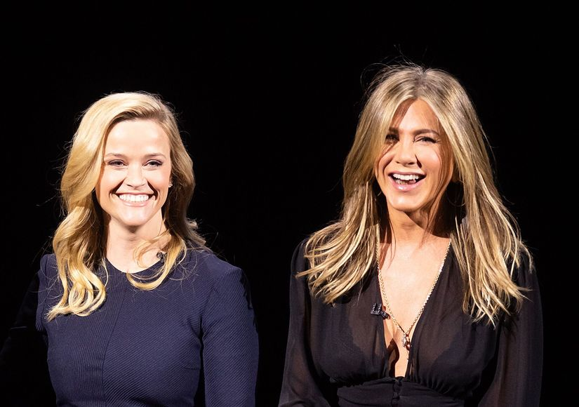 Jennifer Aniston & Reese Witherspoon Reunite on 'The Morning Show'