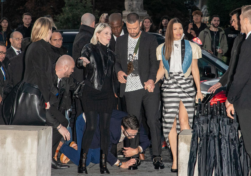 Jessica Biel Reacts to Justin Timberlake's Paris Fashion Week Ambush