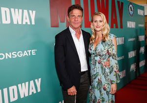 Dennis Quaid Says Fiancée Laura Savoie Is 'For Real'