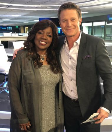 Gotta love a visit from the great @gloriagaynor!