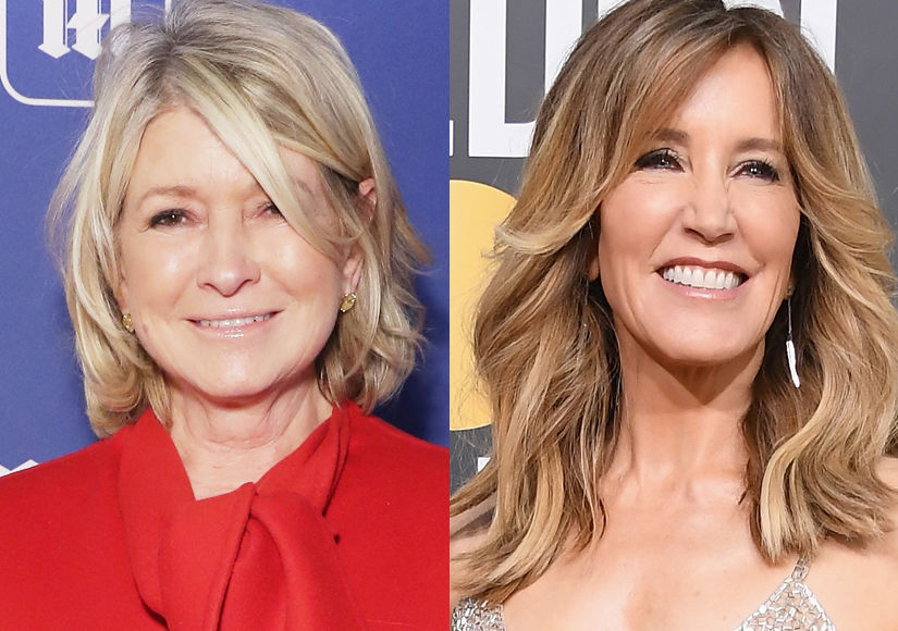Martha Stewart Trolls Felicity Huffman with Prison Advice