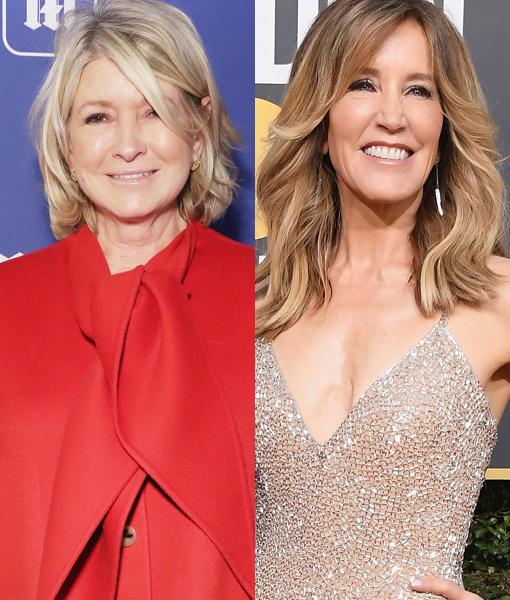 Martha Stewart Trolls Felicity Huffman with Prison Advice