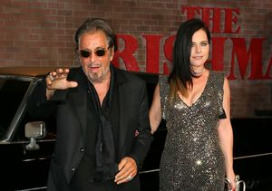 Al Pacino Makes Red-Carpet Debut with GF Meital Dohan