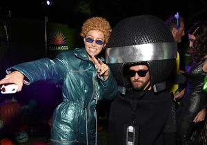 Jessica Biel Dressed Up as *NSYNC-Era Justin Timberlake for Halloween