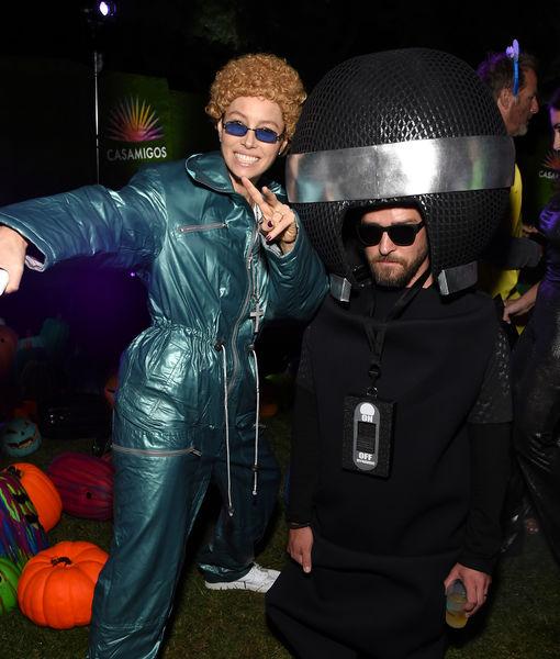 Jessica Biel Wins Halloween as *NSYNC-Era Justin Timberlake