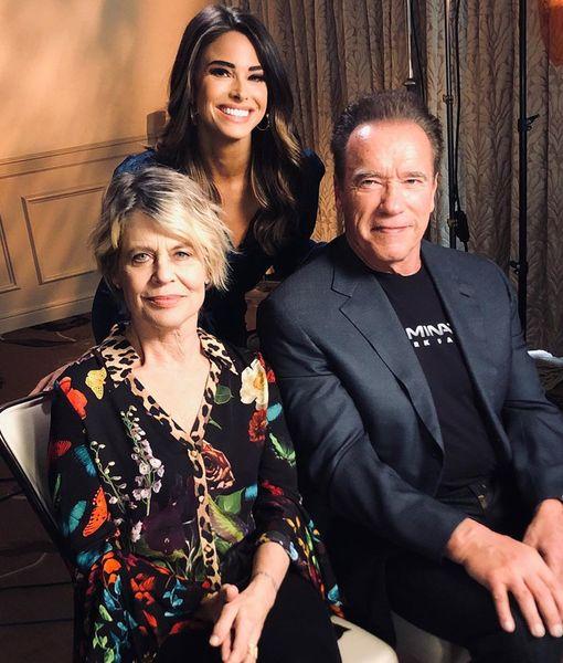 Schwarzenegger & Hamilton on Reuniting for 'Terminator: Dark Fate'