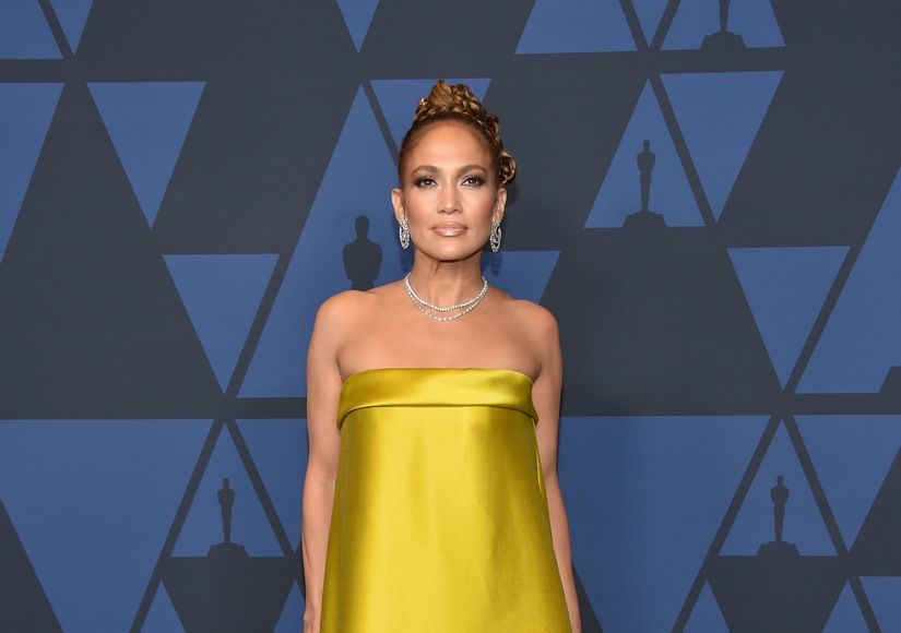 Jennifer Lopez Talks Super Bowl Plans, and Drops a Wedding Dress Hint
