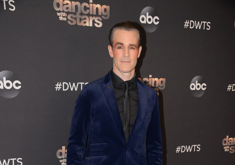 James Van Der Beek Talks 'DWTS' and Halloween Plans with His Kids