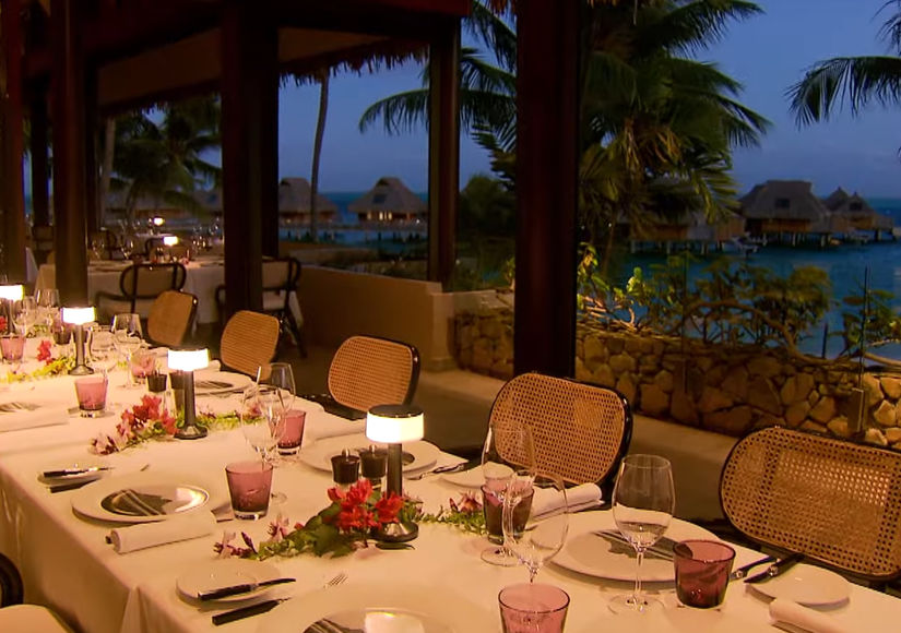 Mansions and Millionaires: Places to Eat at Conrad Bora Bora Nui