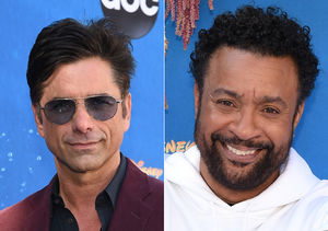 First-Time Meeting! Watch John Stamos Crash Shaggy's 'Extra' Interview