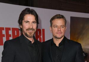 Christian Bale & Matt Damon Talk Cars at 'Ford v Ferrari' Premiere