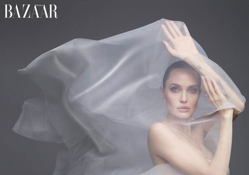 Angelina Jolie Poses Nude, Plus: Does Brad Pitt Have Any Say on Where She Lives?