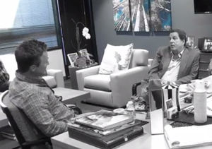 WB TV President Peter Roth Pranks Billy Bush