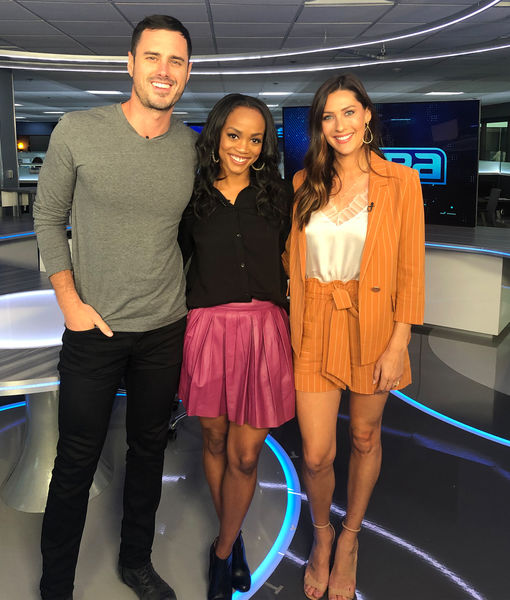 Becca Kufrin & Ben Higgins Talk 'Bachelor Live on Stage,' Peter Weber, and Their Own Relationships