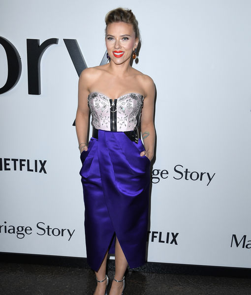 Scarlett Johansson Talks 'Marriage Story,' Relating to Character Who 'Lost Herself'