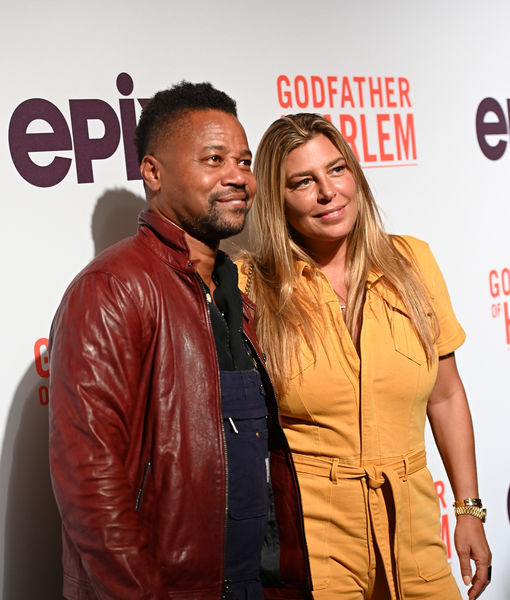 Video! Cuba Gooding Jr.'s GF Claudine De Niro Flips Out on Him at Miami Party