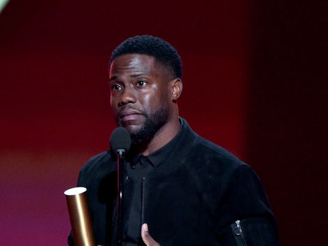 Kevin Hart Makes First Public Appearance Since Car Crash - Extra