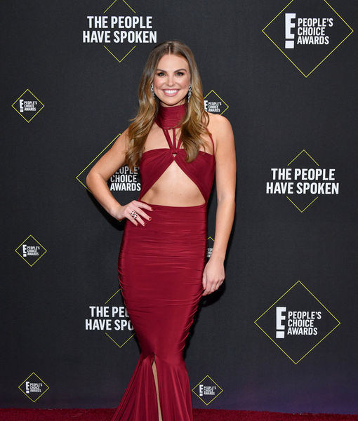 Hannah Brown Draws Focus from Tyler Cameron at People's Choice Awards
