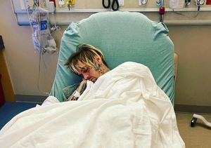 Aaron Carter Hospitalized