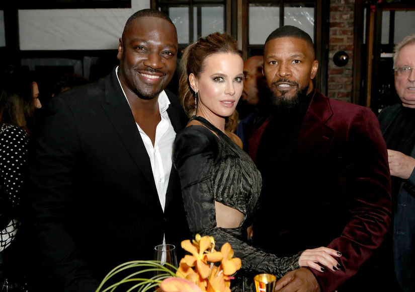 Adewale Kate Beckinsale Jamie Foxx 2020 Golden Globe Awards Season Unveiling Nov14 2019 GTWP  1187745689