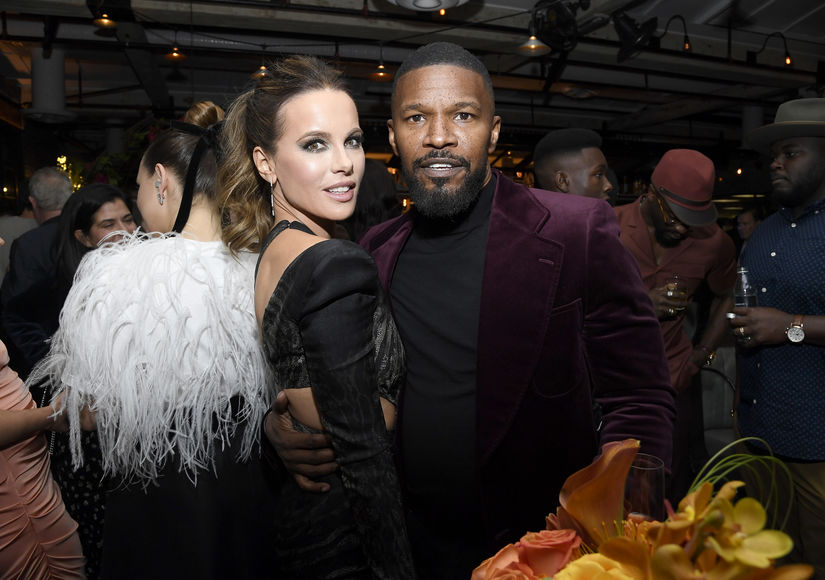 Kate Beckinsale Jamie Foxx 2020 Golden Globe Awards Season Unveiling Nov14 2019 GTWP  1187760135
